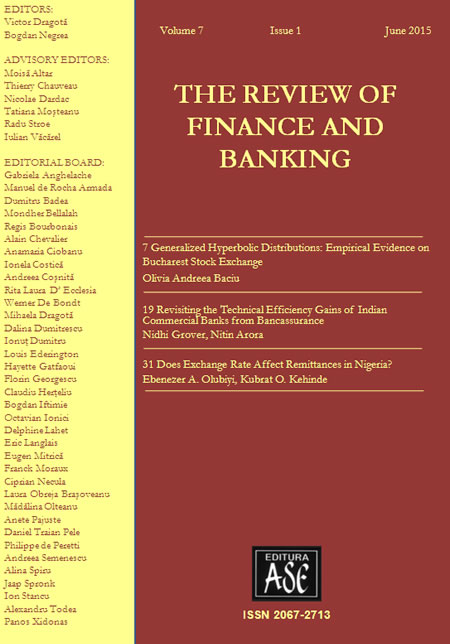 The Review of Finance and Banking